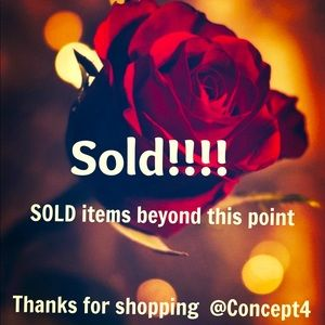 Sold items, thank you!!!